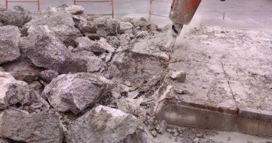Как демонтировать фундамент своими руками?