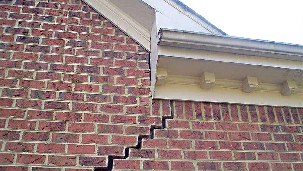 Появление трещин на доме