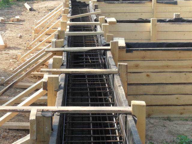 Использование деревянных хомутов