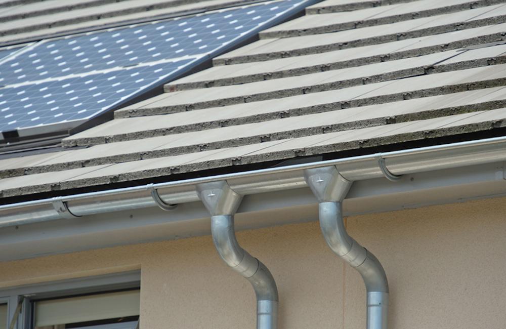 Ливневка на крыше